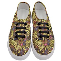 Lilies Abstract Flowers Nature Women s Classic Low Top Sneakers