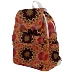 Abstract Kaleidoscope Design Top Flap Backpack
