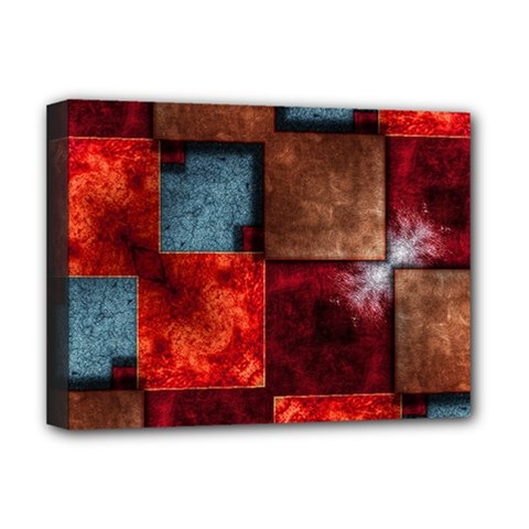 Abstract Depth Structure 3d Deluxe Canvas 16  X 12  (stretched)