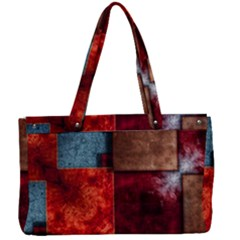 Abstract Depth Structure 3d Canvas Work Bag by Pakrebo