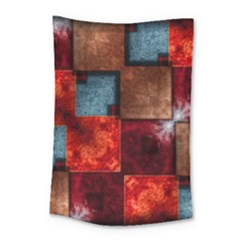 Abstract Depth Structure 3d Small Tapestry