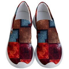 Abstract Depth Structure 3d Women s Lightweight Slip Ons
