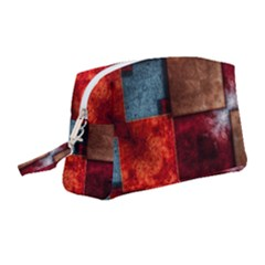 Abstract Depth Structure 3d Wristlet Pouch Bag (medium)