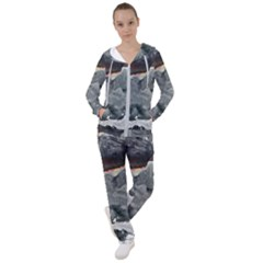 Mountains Scene Landscape Women s Tracksuit