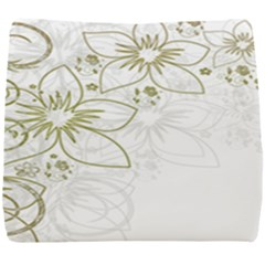 Flowers Background Leaf Leaves Seat Cushion