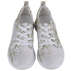 Flowers Background Leaf Leaves Women s Lightweight Sports Shoes