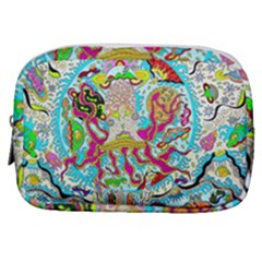 Supersonic Octopus Make Up Pouch (small) by chellerayartisans