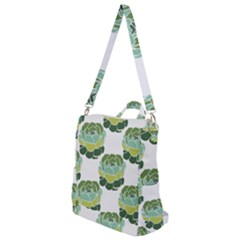 Cactus Pattern Crossbody Backpack