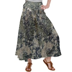 Grunge Camo Print Design Satin Palazzo Pants by dflcprintsclothing