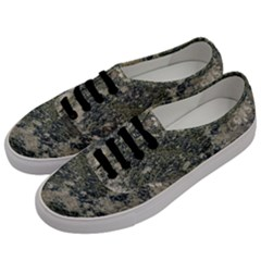 Grunge Camo Print Design Men s Classic Low Top Sneakers by dflcprintsclothing