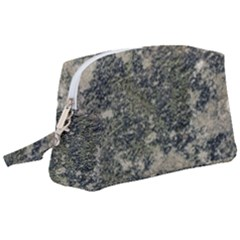 Grunge Camo Print Design Wristlet Pouch Bag (large) by dflcprintsclothing