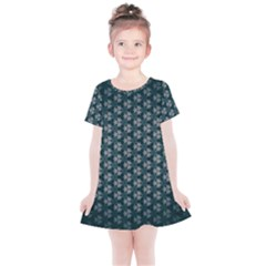Texture Background Pattern Kids  Simple Cotton Dress by Alisyart