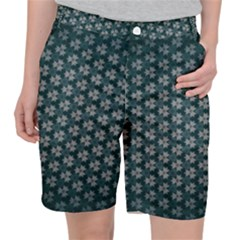 Texture Background Pattern Pocket Shorts