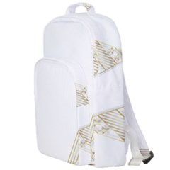 Christmas Tree Star Double Compartment Backpack