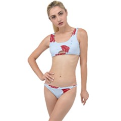 Fish Red Sea Water Swimming The Little Details Bikini Set