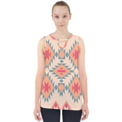 Tribal Signs 2          Cut Out Tank Top by LalyLauraFLM