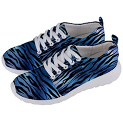 Funny Galaxy Tiger Pattern Men s Lightweight Sports Shoes by tarastyle