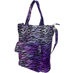 Funny Galaxy Tiger Pattern Shoulder Tote Bag