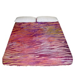 Funny Galaxy Tiger Pattern Fitted Sheet (king Size) by tarastyle