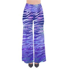 Funny Galaxy Tiger Pattern So Vintage Palazzo Pants by tarastyle