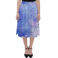 Funny Galaxy Tiger Pattern Classic Midi Skirt by tarastyle