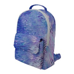 Funny Galaxy Tiger Pattern Flap Pocket Backpack (large) by tarastyle