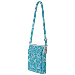 Colorful Tropical Hibiscus Pattern Multi Function Travel Bag by tarastyle