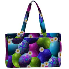 Eggs Happy Easter Canvas Work Bag by Desi8477