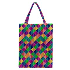 Geometric Triangle Classic Tote Bag