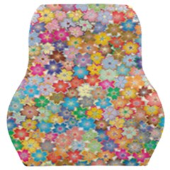 Floral Flowers Abstract Art Car Seat Back Cushion