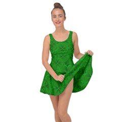 Leaf Clover Background Shamrock Inside Out Casual Dress