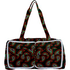 Pattern Abstract Paisley Swirls Multi Function Bag