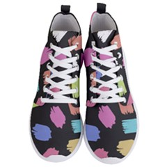 Many Colors Pattern Seamless Men s Lightweight High Top Sneakers