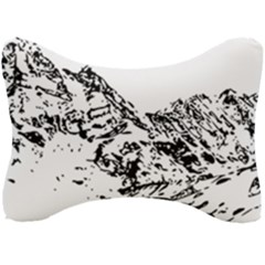 Mountain Ink Seat Head Rest Cushion
