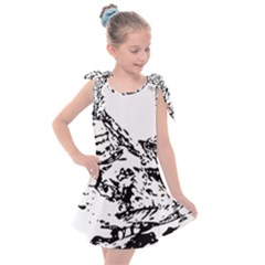 Mountain Ink Kids  Tie Up Tunic Dress