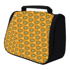 Pattern Halloween Pumpkin Color Leaf Full Print Travel Pouch (small)