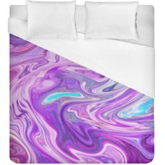Pattern Texture Art Rainbow Duvet Cover (king Size)