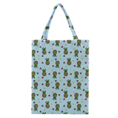 Pineapple Watermelon Fruit Lime Classic Tote Bag