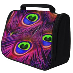 Peacock Feathers Color Plumage Full Print Travel Pouch (big)