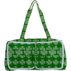 Plaid Shamrocks Clover Multi Function Bag