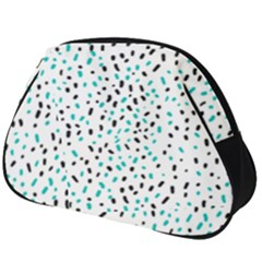 Seamless Texture Fill Polka Dots Full Print Accessory Pouch (big)