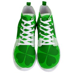 Shamrock Luck Day Men s Lightweight High Top Sneakers
