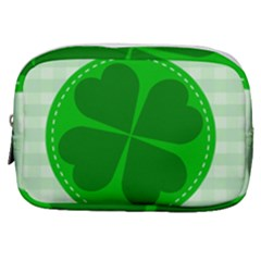 Shamrock Luck Day Make Up Pouch (small)