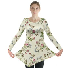 Vintage Roses Long Sleeve Tunic