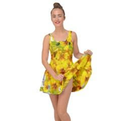 Daffodil Surprise Inside Out Casual Dress
