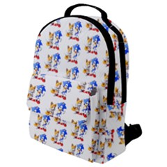 Fox And Hedgehog Flap Pocket Backpack (small)