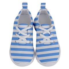 Blue Stripes Running Shoes