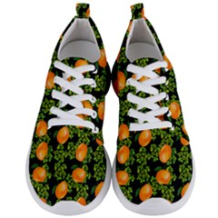 Citrus Tropical Orange Black Men s Lightweight Sports Shoes
