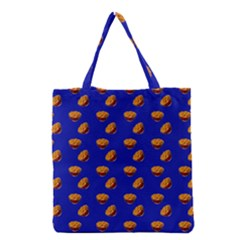 Kawaii Chips Blue Grocery Tote Bag
