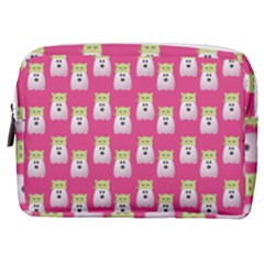 Ghost Pet Pink Make Up Pouch (medium)